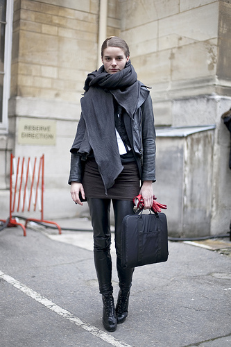 French girl simple style